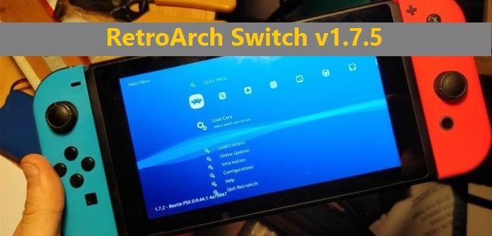 retroarch switch emuladores para nintendo switch