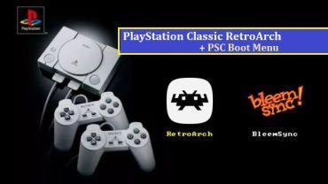 playstation classic retroarch