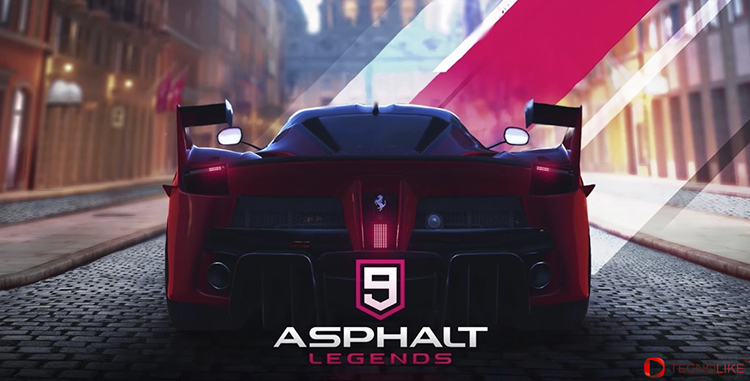Asphalt 9: Legends.