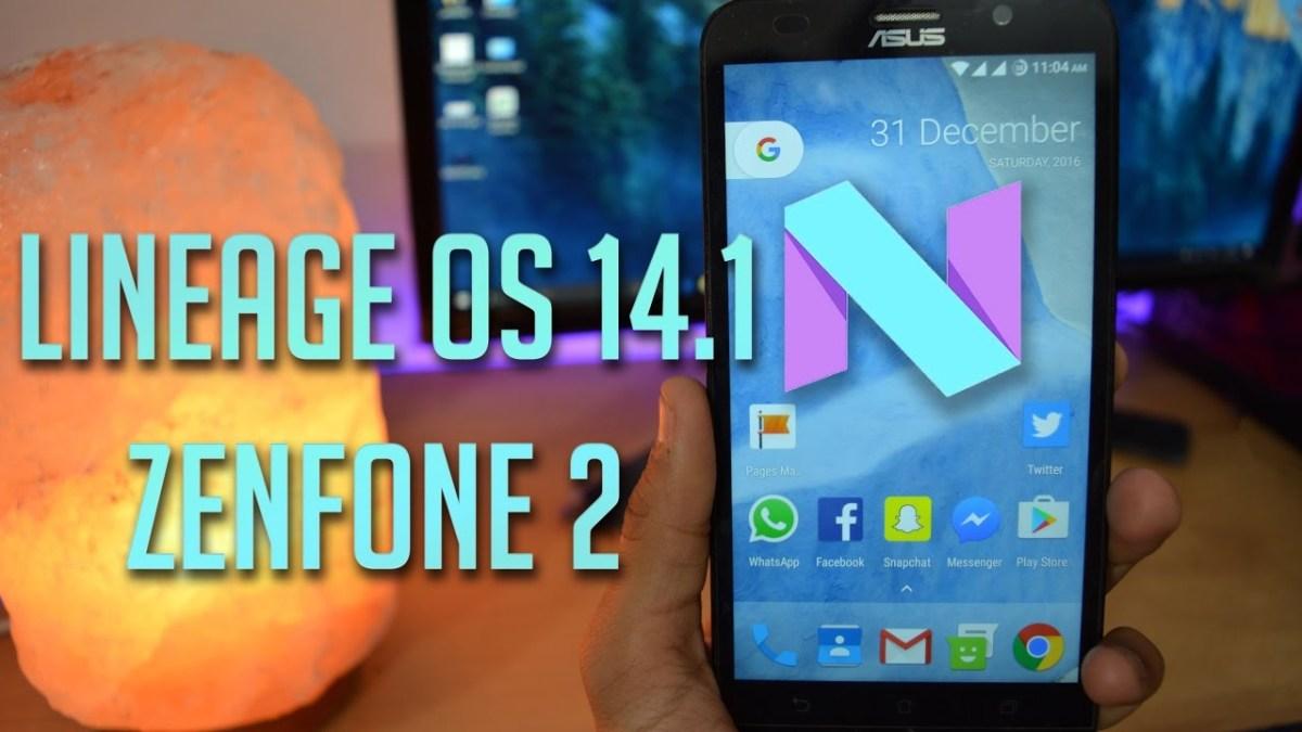 Come installare l'aggiornamento Nougat alternativo per Asus ZenFone 2: video su Lineage OS