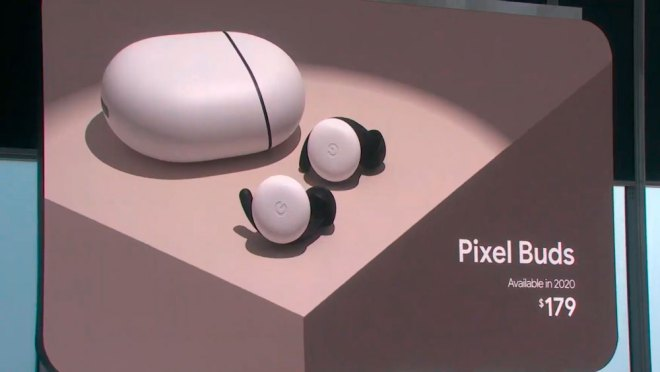 Google Pixel Buds made by google