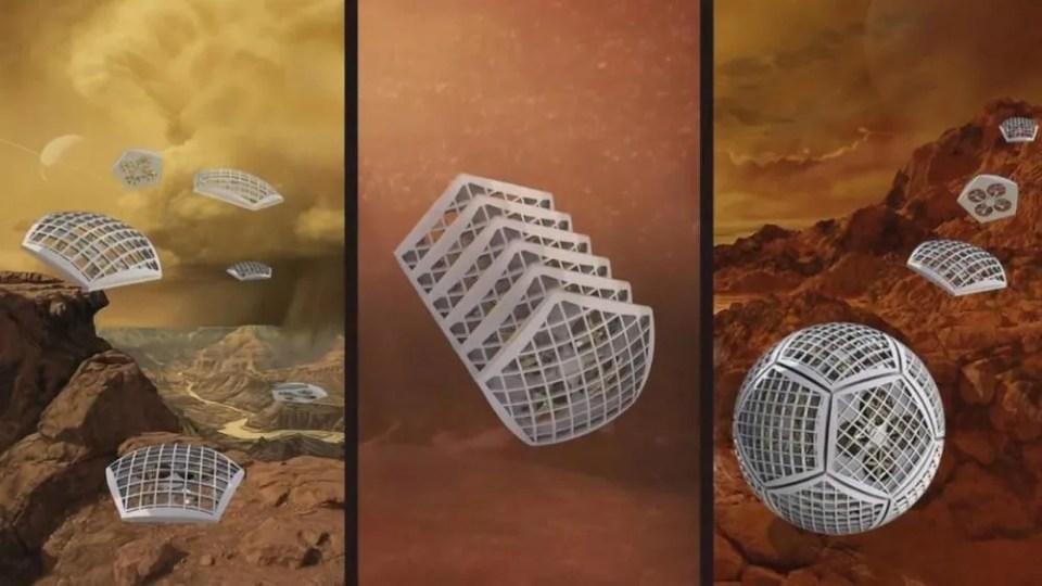 Cobots de la NASA