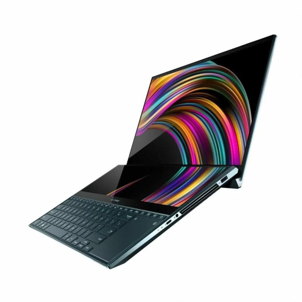 Portátil Asus ZenBook Duo doble pantalla y diseño único