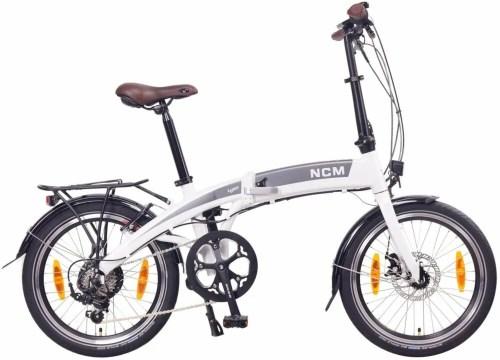 NCM, una bicicleta eléctrica plegable baratapara la ciudad