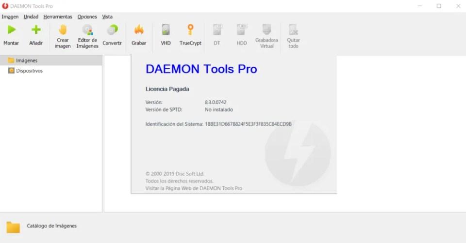 Cómo montar una imagen de disco ISO con Daemon Tools