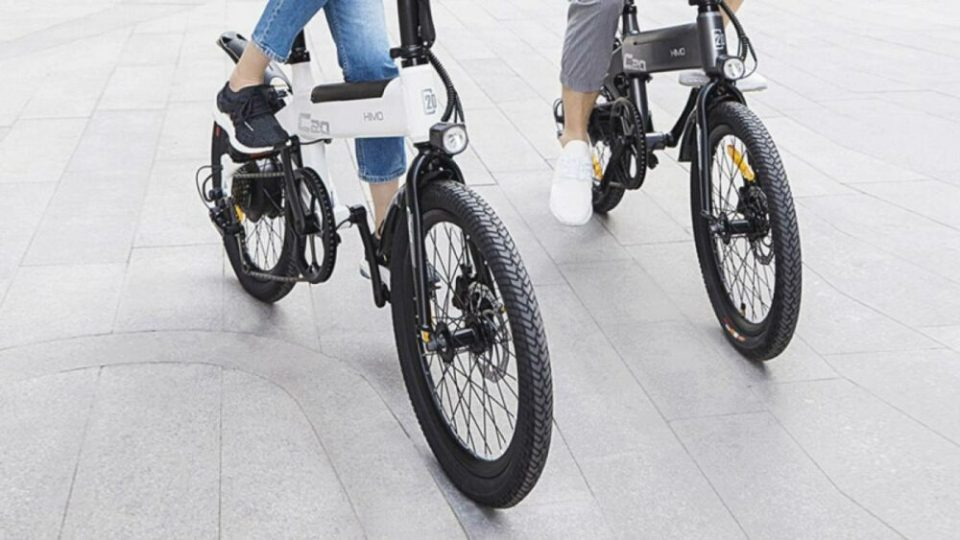 modelos disponibles de la bicicleta eléctrica plegable Xiaomi Himo C20