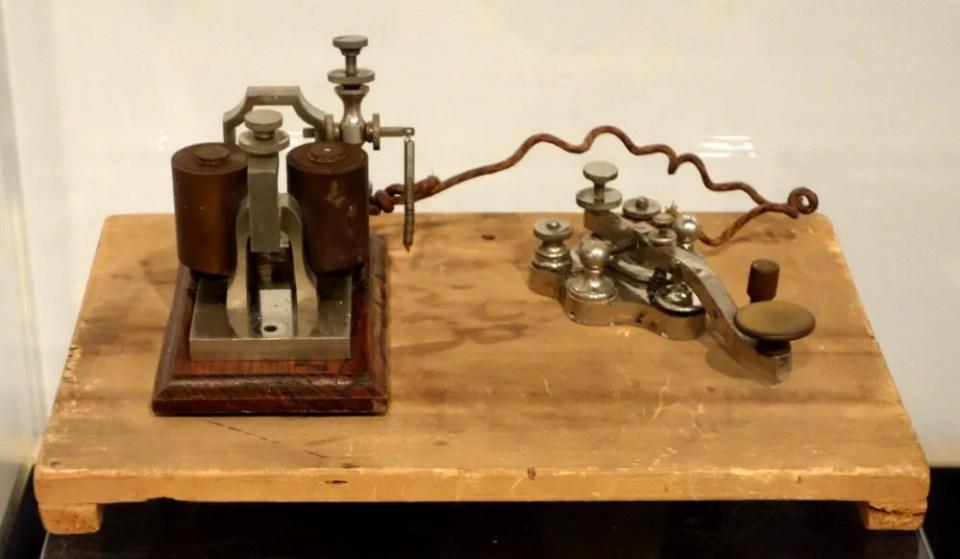 El telégrafo de Morse