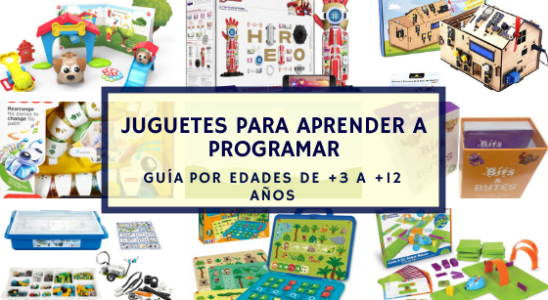 juguetes para aprender a programar