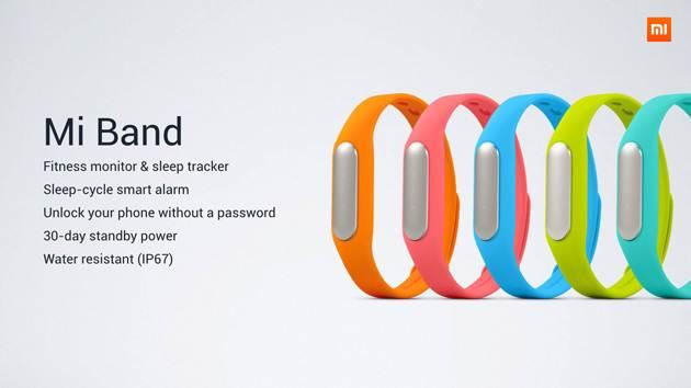 Xiaomi MiBand aterriza en América a través de Mi.com