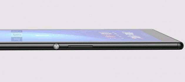 fotos del Xperia Z4 Tablet ultrafina