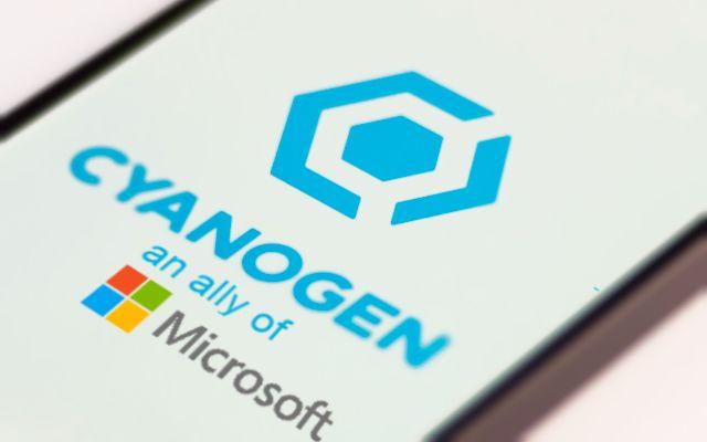 Cyanogen Microsoft