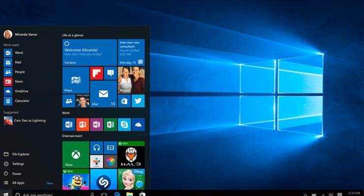 Cinco razones para actualizar su sistema a Windows 10