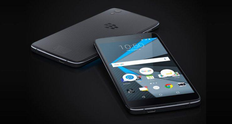 BlackBerry DTEK60 especificaciones completa