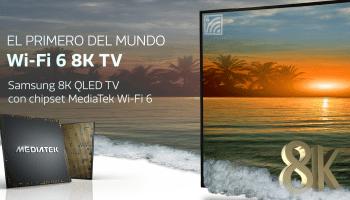 televisor Wi-Fi 6 8K