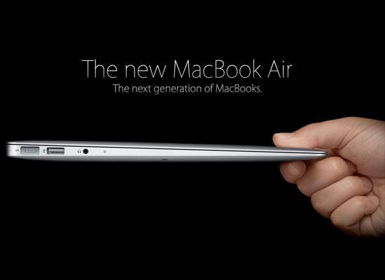 MacBook Air de 11,6 pulgadas - 2