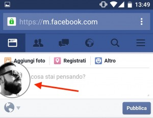 nascondere amici facebook da android e da iphone