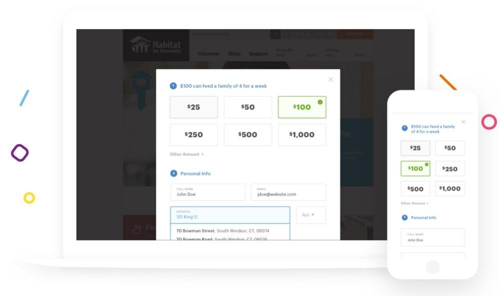 GiveForms, genial servicio para recibir donaciones en tu sitio web