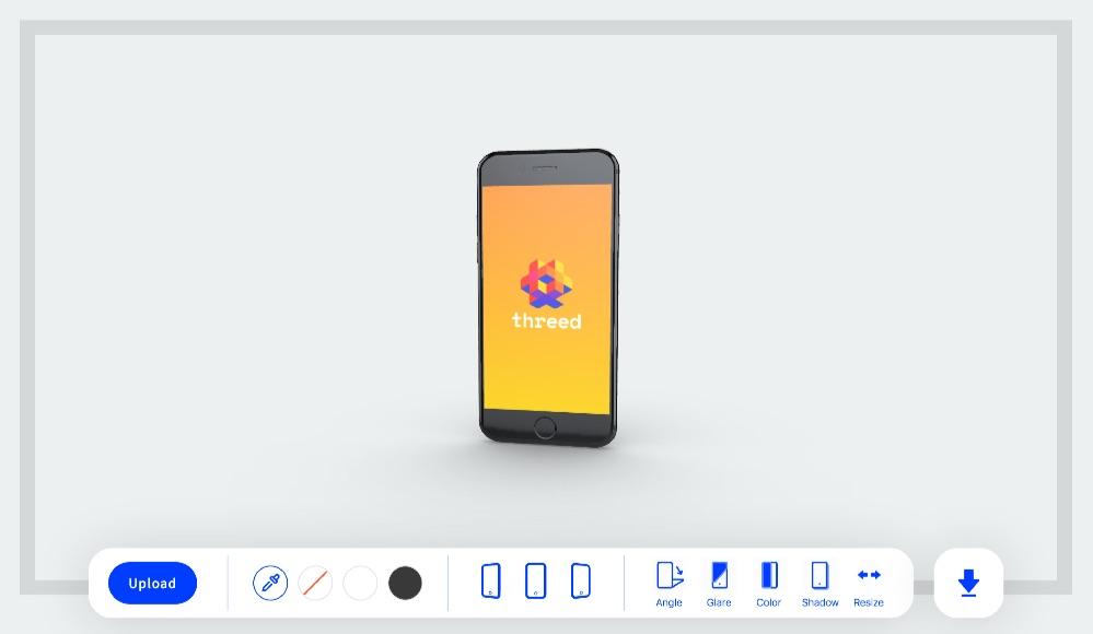 Herramienta online para generar mockups 3D gratis