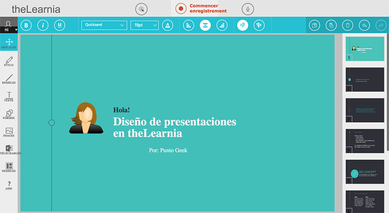 theLearnia, pizarra online para que maestros creen lecciones en video