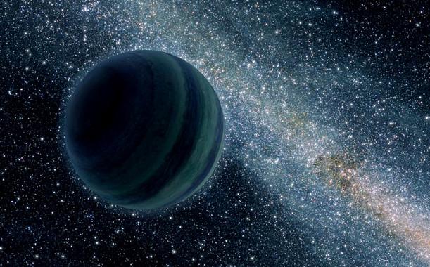 Ilustración de un planeta similar a Júpiter flotando libremente en el espacio sin estrella. / NASA/JPL-Caltech
