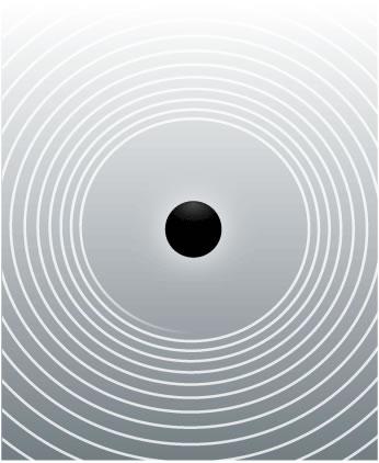 ONDAS GRAVITACIONALES. Las ondas invisibles ondulaban hacia afuera a la velocidad de la luz . Pero las ondas se desvanecen con la distancia, y cuando por fin llegaron a la Tierra , las distorsiones eran demasiado pequeños para ser medido por encima del calor , el ruido y otras vibraciones de nuestro planeta .