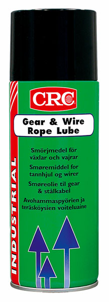 GEAR & WIRE ROPE LUBE 400ml ΛΙΠΑΝ ΓΡΑΝ ΣΥΡΜΑΤ