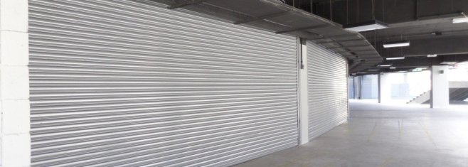 portas de enrolar comerciais porta de aço automática em São leopoldo