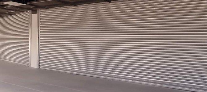 Porta de Enrolar em Santo André