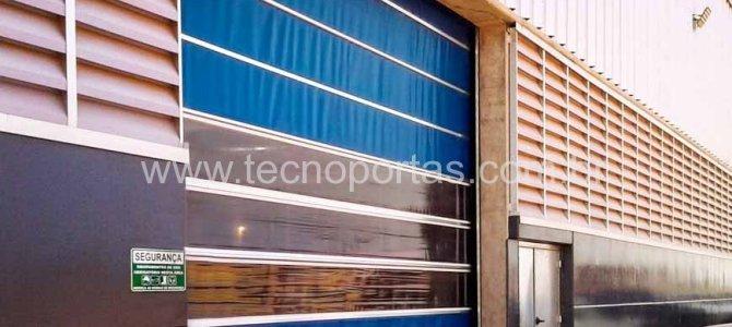 Fabricadora de Porta industrial flexível