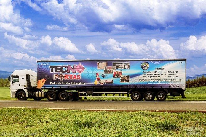 Frota Própria Tecnoportas - Tecnocargas