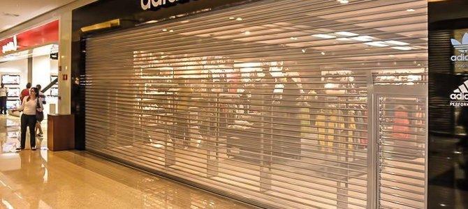 Portas de enrolar para Shopping