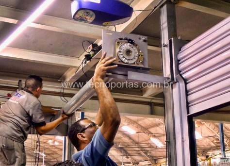 Treinamento Instalação Porta de Enrolar Automática Tecnoportas