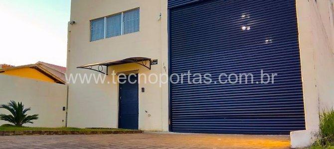 Portão de enrolar em São Vicente – SP