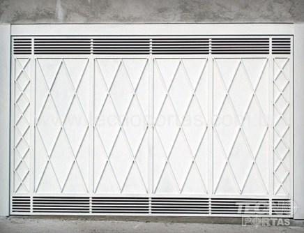 Portões Fechados com Ventilação