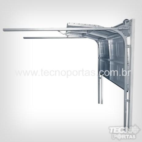 Sistema da Porta Seccionada Americana Tecnoportas