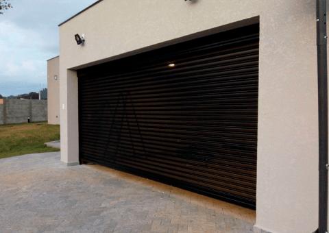 Porta de Enrolar Residencial Porta de Enrolar Automatizada Portas de Rolo