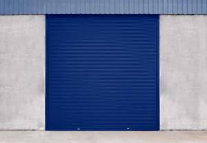 Porta de Enrolar Porta de Aço para Indústria