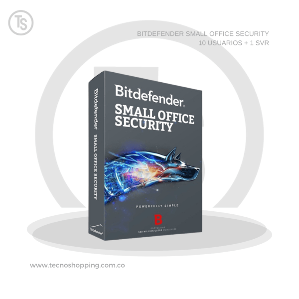BITDEFENDER SMALL OFFICE SECURITY 10 USUARIOS + 1 SVR