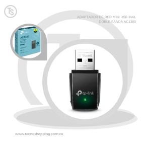 ADAPTADOR DE RED MINI USB INAL DOBLE BANDA AC1300