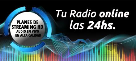 Streaming de audio en alta calidad!