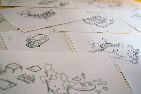 folleto-puertorico-2013-Dibujos previos a su digitalizacion