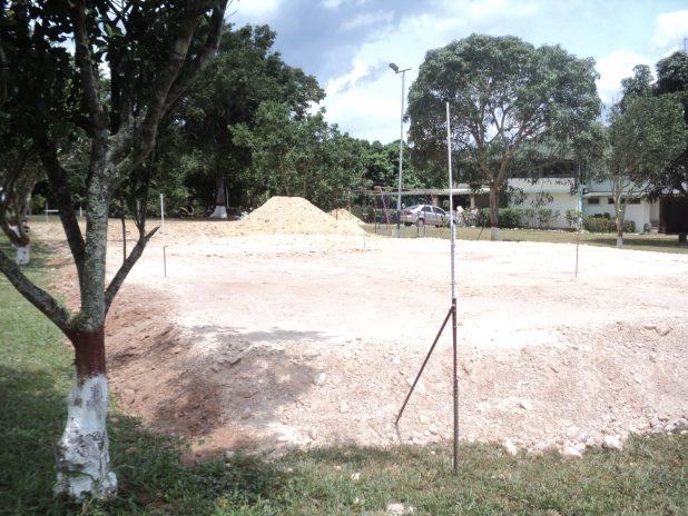Movimiento de tierra inicio de obra