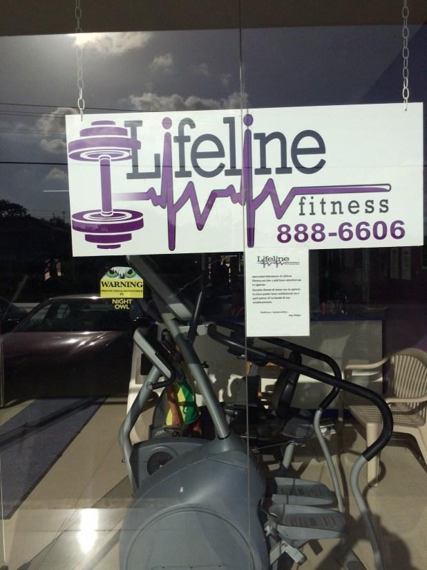 LIFELINE FITNESS Curacao (Front) . Fitness Equipment supplier TECNOSPORTS