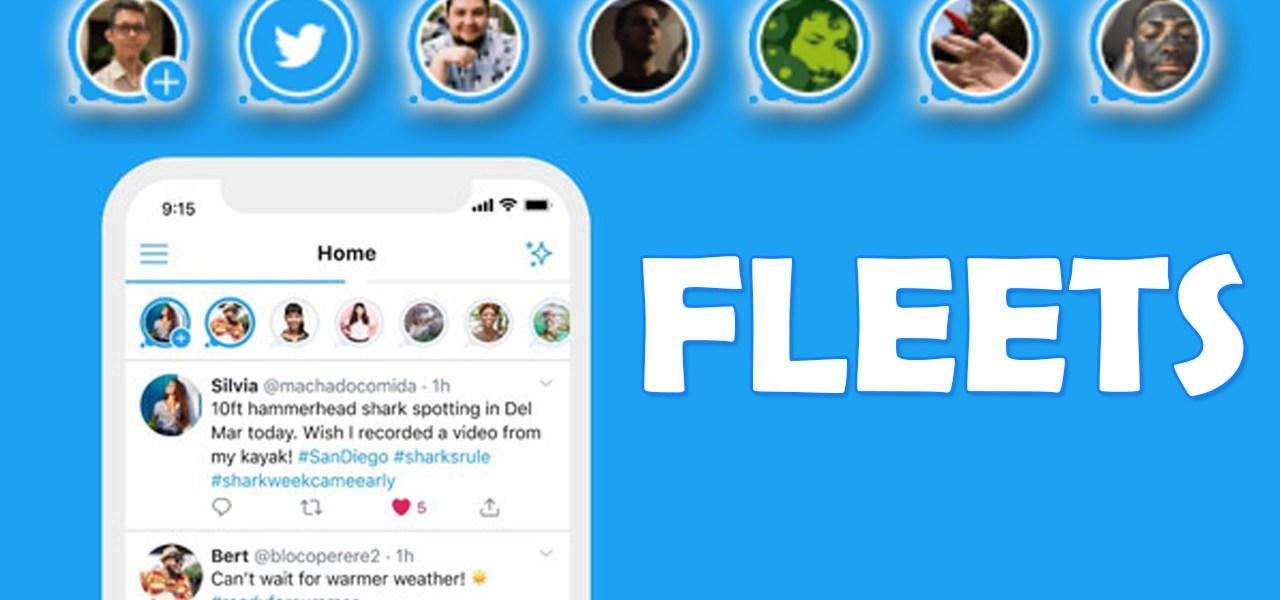 Twitter Fleets Audio Space