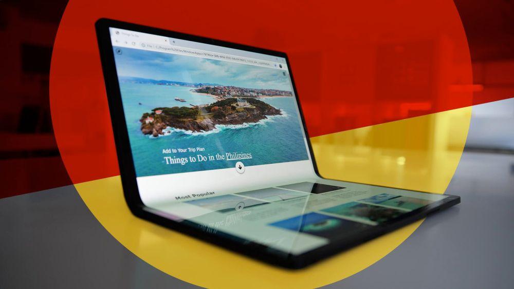 intel laptop flexible
