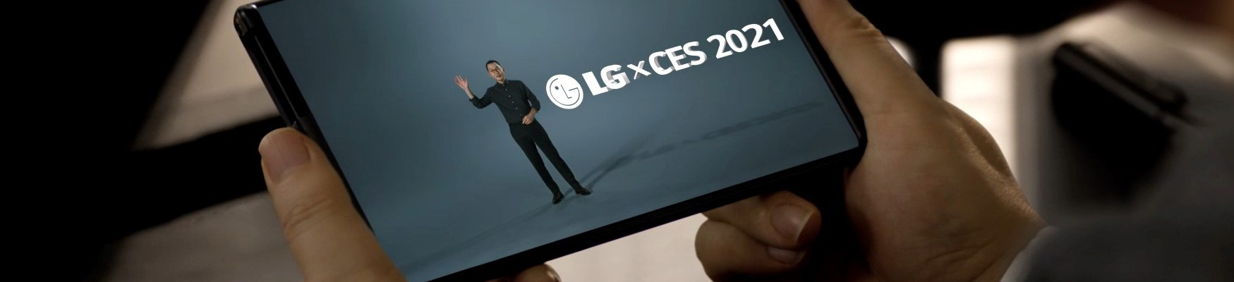 LG CES 2021 Rollable
