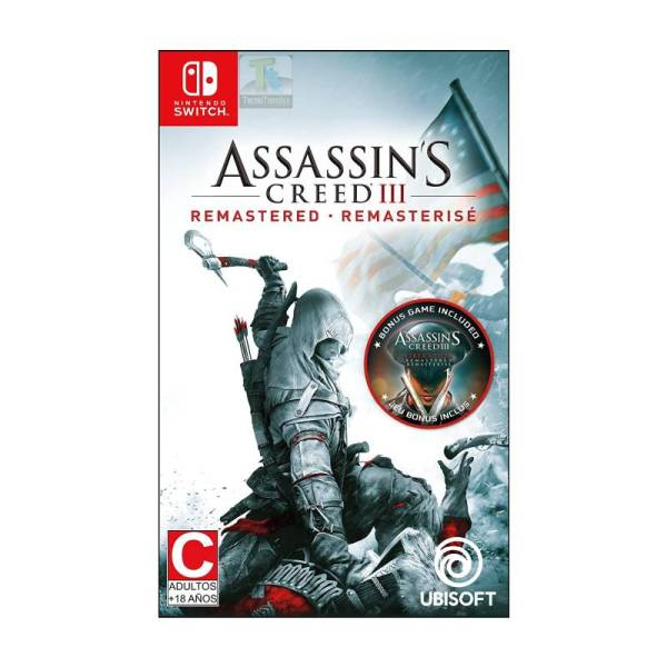 Asassins Creed 3 Remasterise Nintendo Switch