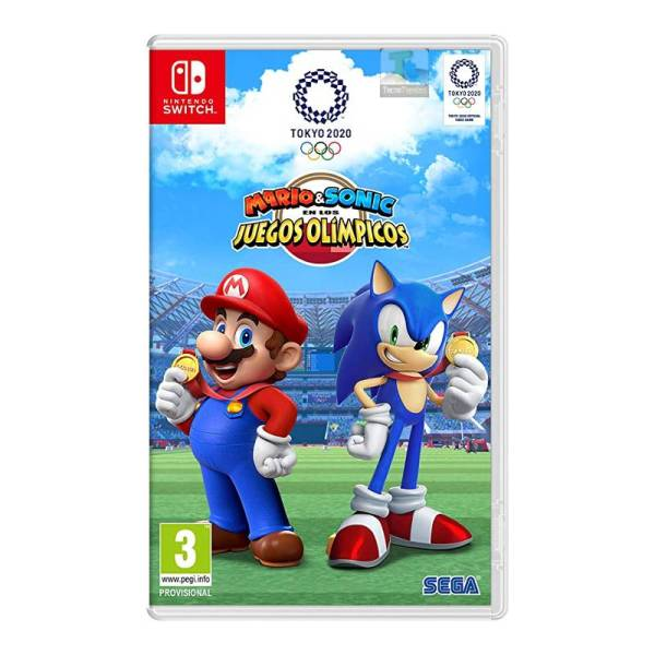 Mario y Sonic Juegos Olimpicos Nintendo Switch