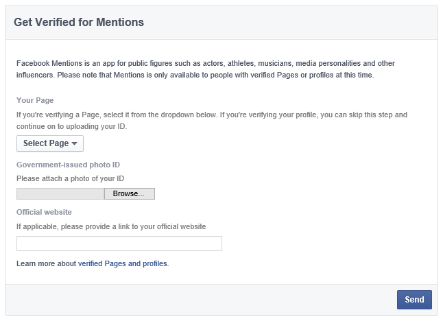 facebook mentions