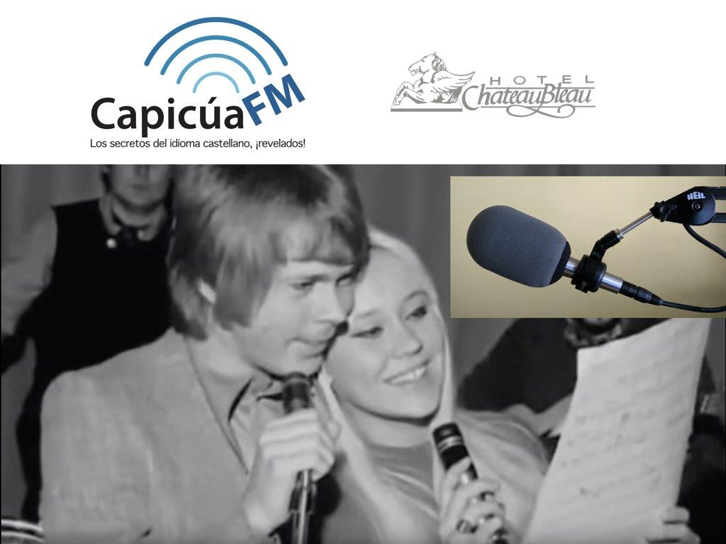 Micrófono palindrómico, ABBA y el nombre del hotel ChâteauBleau o Castillo BelloAzul